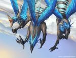 Groupe de griffons by Ellana01