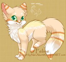 cat auction -closed- by gold-adopts