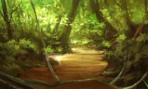 jungle stream by bongoshock