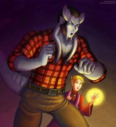 Barnaby and Elliot Goldleaf by andrea-koupal