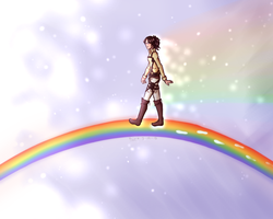 rainbows [ hanji ] by oh-no-Castiel