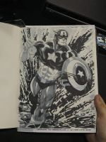 SDCC 10 sketch Captain America by thejeremydale