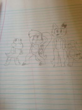 Draw the squad 2 by SQWEEGEE721