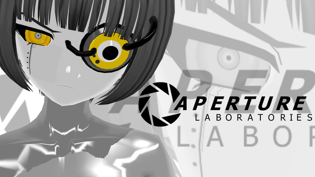 GLaDOS MMD Model by Peptos