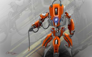 Madcatz R.A.T. robot by Didymus03
