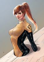 Kitty Pryde by nekokonut