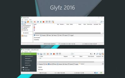 Glyfz 2016 uTorrent Skin by alexgal23