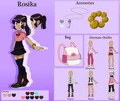 [PKMN OC] Rosika Reference Sheet (OLD)