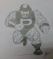 Puck - part of Daily Sketch Challenge by mrinal-rai