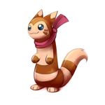 Day #6 Furret by Bestary