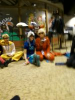blurry John, Dave and Tavros by regates