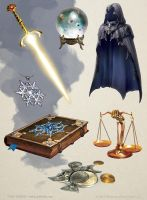 Magic Items by OlgaDrebas