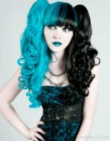 crazy hair color xD by firdevsa