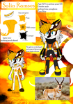 Solin The Pronghorn 2018 Ref by SolinTheDragon