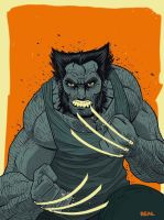 Wolverine by Fuacka