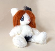 Commission: Jointed Pie Plushie by Naoru