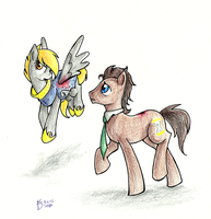 Turner and Hooves by AugustRaes