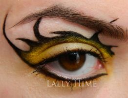 House Baratheon- Make-Up (close) by Lally-Hime