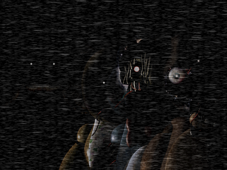 Five Nights at Freddy's - Main Menu [Withered]Gif by Christian2099