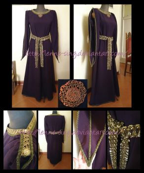 Medieval Dress by Lenne-sing