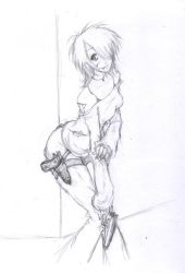 Another fast sketch by Sinussa