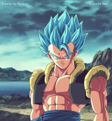 gogeta ssgss by 9ary