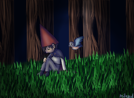 We will never escape | OVER THE GARDEN WALL by MiTexcel