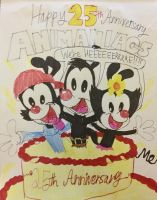 Happy 25th,Animaniacs! by Mccraeiscook2017205