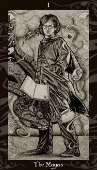 HP Tarot - 1 The Magus by Ellygator