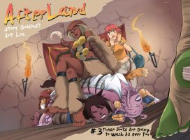 AfterLand 3 Available Now by PawFeather