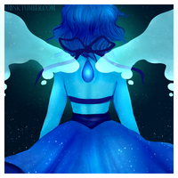 I am Lapis Lazuli by H0nk-png