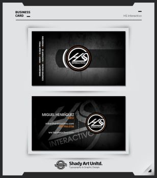 HS INTERACTIVO Business Card by shadyau