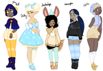 Blue Adoptables [CLOSED] by Death2Eden