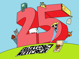 Cartoon Network: 25-Year Dedication by AnimationFan15