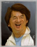 Jackie Chan by David-Duque