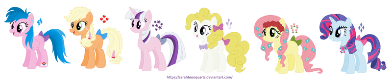 MLP: The First Generation by SarahBearQuartz