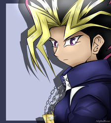 Yami Yugi - You are in another world now~ by AlphaRose24