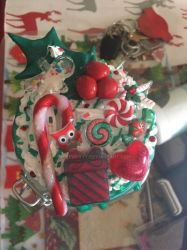 Christmas lolly jar by bittykitty