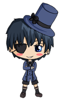 Ciel Phantomhive Chibi by IcyPanther1
