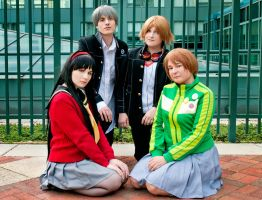 Persona 4 - Second Years' Portrait by BLUEsteelProductions