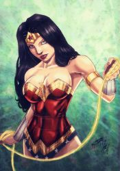 Lasso of Truth (colors) by FantasticMystery