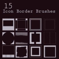 Icon Border Brushes2 by freaky-x