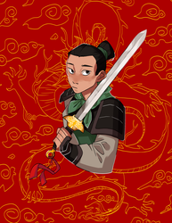 Mulan by ShadyPebblez