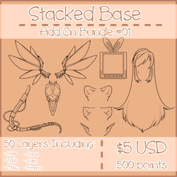 Stacked Add Ons [[OPEN]] by Omega-Fluff