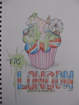 The London Cupcake by BenjiiBen