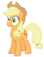 Applejack Vector - Shocked by Anxet