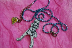 Ramona Flowers necklace by super-emo-princess