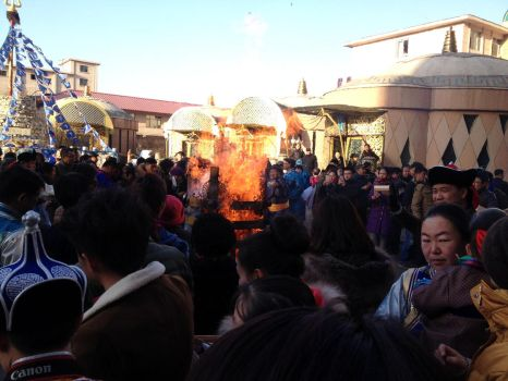 Mongolian Fire Festival 04 by Jburns272