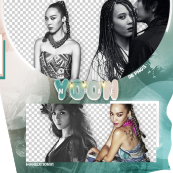 /PACK PNG/ YOON MIRAE. by MarEditions1