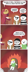 Welcome To Hell by BrandonPewPew